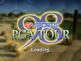 PGA Tour 98 PlayStation Loading screen