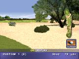 PGA Tour 98 PlayStation Ball landed in the bunker