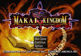 Makai Kingdom: Chronicles of the Sacred Tome PlayStation 2 Title screen