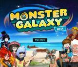Monster Galaxy Browser Main Title.