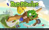 Bad Piggies Android Game title (HD version)