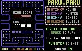 Paku Paku Commodore 64 Title and scores