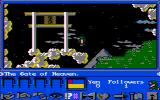 James Clavell's Shogun DOS Enjoying the mystical scenery in the sky (CGA with composite monitor)