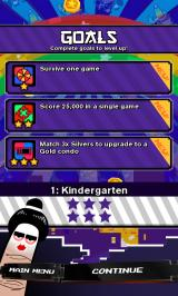 Super Monsters Ate My Condo! Android Each level has a number of goals that need to be completed.