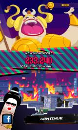 Super Monsters Ate My Condo! Android Game is over.