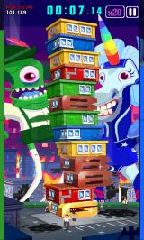 Super Monsters Ate My Condo! Android The tower is almost falling over.