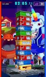 Super Monsters Ate My Condo! Android Now Boat Head has got a little cottage on his head.