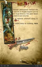 Blood of the Zombies Android It's wise to make a bookmark (save) before a tough choice or battle