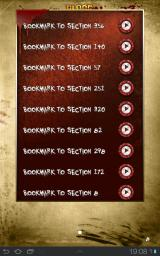 Blood of the Zombies Android You can jump to any of the previously made bookmarks