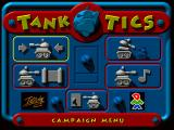 Tanktics Windows Main menu
