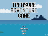 Treasure Adventure Game Windows Title screen and main menu