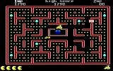 Jr. Pac-Man DOS Get 800 Points from Monster (EGA)