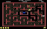 Jr. Pac-Man DOS Get 1600 Points from Monster (EGA)