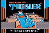 Rock-Ola's Nibbler Apple II Another title screen
