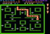 Rock-Ola's Nibbler Apple II Snake growing larger