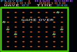 Rock-Ola's Nibbler Apple II Game over