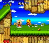 Speedy Gonzales in Los Gatos Bandidos SNES One of the poor mice, trapped in a cage