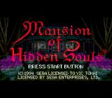 Mansion of Hidden Souls SEGA CD Title Screen