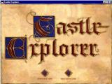 Castle Explorer Windows The game's title screen. There are no game options that are accessed via the menu bar.
