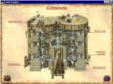 Castle Explorer Windows The Gatehouse has been selected. From here individual areas can be examined in greater detail.