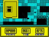 Die Alien Slime ZX Spectrum Giant pipe on the ground.