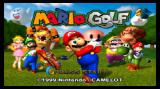 Mario Golf Wii Title screen