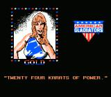 American Gladiators NES Gold Says...