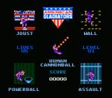 American Gladiators NES Choose your event