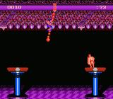 American Gladiators NES Cannonball Swing