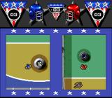 American Gladiators SNES Split screen Powerball