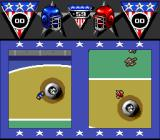 American Gladiators SNES Grabbing another ball