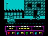 L.A. Drugs Bust ZX Spectrum An enemy shoots at you