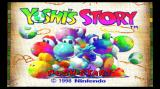 Yoshi's Story Wii Title screen