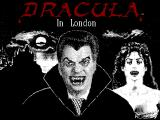 Dracula in London Windows 3.x The title screen featuring Dracula and his new vampire bride Mina