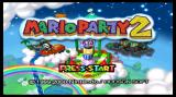 Mario Party 2 Wii Title screen