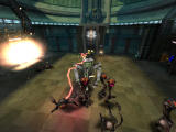 Oddworld: Munch's Oddysee Windows Remote-controlling a robot and zappin' em good!