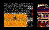 Indiana Jones and the Temple of Doom Amiga Level 3 - Lava is introduced in this level.