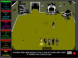 Dracula in London Windows 3.x The adventure game interface