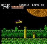 Godzilla: Monster of Monsters NES A Jungle on the Jupiter level