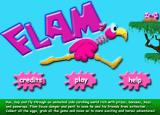 Flam Browser Title screen.