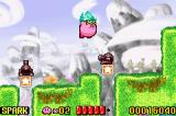 Kirby: Nightmare in Dreamland Game Boy Advance Fly over everything.