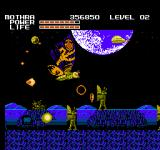 Godzilla: Monster of Monsters NES Enemies gang up on Mothra