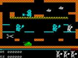 Brian Bloodaxe ZX Spectrum Deadly: Knights, tank... and scissors.