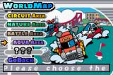 Gadget Racers Game Boy Advance Many worlds to race in and you have to unlock each one
