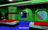Wing Commander II: Vengeance of the Kilrathi DOS Officer's Quarters - EGA