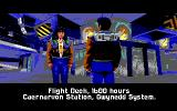 Wing Commander II: Vengeance of the Kilrathi DOS Mission Briefing - EGA