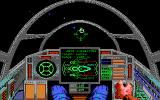 Wing Commander II: Vengeance of the Kilrathi DOS Cockpit Targeting - EGA