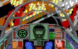 Wing Commander II: Vengeance of the Kilrathi DOS Cockpit Wingman Communication - EGA