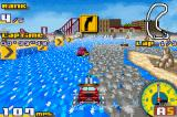 Gadget Racers Game Boy Advance Tracks come in many types such as pavement, sand, and water