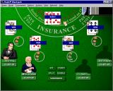 Hoyle Blackjack Windows Game starts